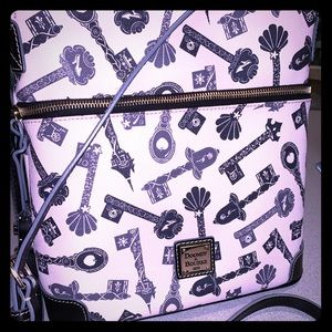 Disney Dooney & Bourke Princess Keys Crossbody